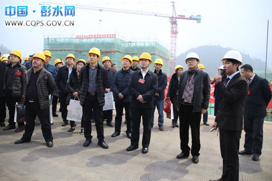 医院新城分院、民族中学B校区建 新城规划开发建设情况,彭水新岭