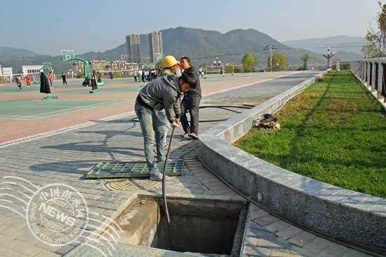 彭水民族中学新校区设施逐步完善